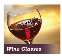 custom wine glass supplier to Vineyards
